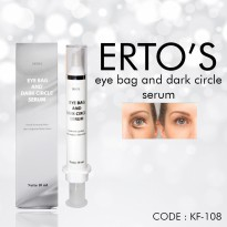 ERTOS EYEBAG DARK CIRCLE SERUM / ERTO'S EYE BAG SERUM MENGATASI KANTONG MATA - KF-108