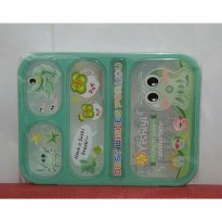 Lunch box Leakproof Yooyee Gambar Hijau