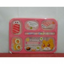 Lunch box Leakproof Yooyee Gambar Pink