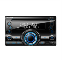 Clarion CX 201A Head Unit Double Din [USB/IPod/IPhone/AUX in]