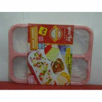 Lunch box Leakproof Yooyee Polos Peach