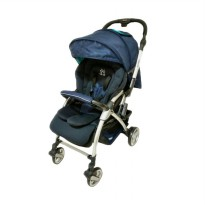 Cocolatte Amber Delly Belly Q6 Kereta Dorong Bayi - Blue
