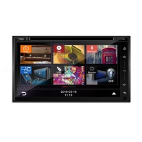 MOBILETECH MM-8702 New Capacitive Head Unit Double Din [6.8 Inch]