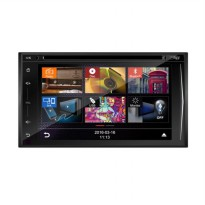 MOBILETECH MM-8701 New Capacitive Head Unit Double Din [6.2 Inch]