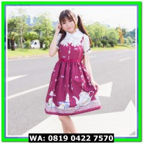 (Mini Dress) COSTUME LOLITA 14 RED