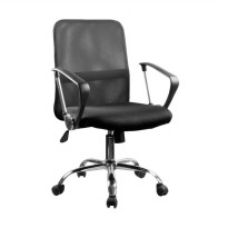 JYSK Dalmose Low Back Office Chair - Black