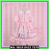 (Mini Dress) COSTUME LOLITA 16 ALICE PINK