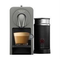 Nespresso Breville Prodigio and Milk Frother Mesin Kopi with Bluetooth - Titan