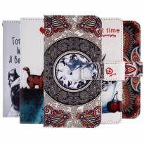 [globalbuy] GUCOON Cartoon Wallet Case for BlackBerry Leap 5.0 Fashion PU Leather Lovely C/5415705