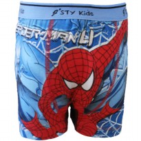 Fantasia Boxer Anak Ultimate Spiderman - Biru