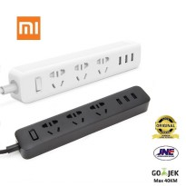 Xiaomi Mi Smart Power Plug Adapter with 3 USB Port 2A - Putih