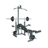 X2FIT XF-500LP Weight Bench with Hammer Tone Peralatan Fitness