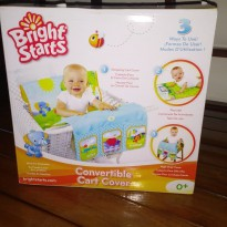 Bright starts - Convertible cart cover