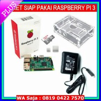 #Desktop & Mini PC Paket Raspberry Pi 3 tanpa kabel HDMI