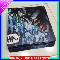 #Aksesoris Game Console PS4 SLIM skin - Joker Laugh