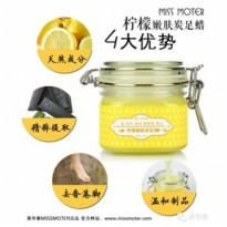 Miss Moter Lemon Rejuvenation Carbon Foot Wax Original