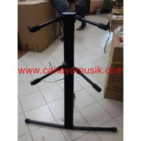 P.R.O.M.O stand keyboard susun kaki tunggal ( high Quality)