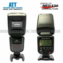 FLASH SPEEDLITE ATT NEO-530 FOR CANON,NIKON,PENTAX,FUJI,OLYMPUS,RICO