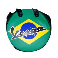 Vespa Brazil Wheel Shape Bag
