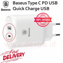 Baseus Charger Series Type C PD U Quick Charger