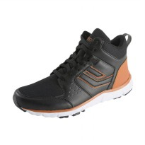 League Sigli M Sepatu Sneakers - Black Beige
