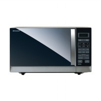 SHARP R-728 (W)-IN Microwave Oven - White [25 L]