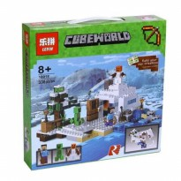 Lego Minecraft My World LEPIN 18018 The Snow Hideout