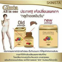 NEW PACK GLUTA BERRY ORI THAILAND