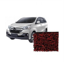 Comfort Deluxe Karpet Mobil with Bagasi for Toyota Avanza - Red Black