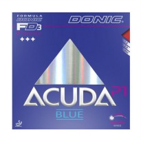 DONIC Acuda Blue P1 Rubber Bat Pingpong - Red [Max]