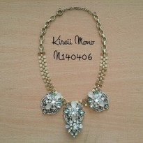 Kalung fashion statement casual chic jcrew inspired