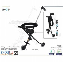 Magic Stroller PMB Roda 3 Stroller Balita