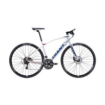 Giant Fastroad SLR 2 X700 27 SP Sepeda Road Bike - White [Size M]