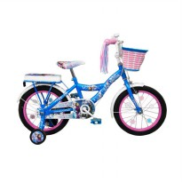 Wimcycle Mini Character Frozen Sepeda Anak [16 Inch]