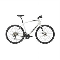 Specialized LTSIL Bicycle Sirrus Comp Carbon Metwhtsil Sepeda - [L] 90917-5004 White Black