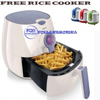 Philips Viva Collection Airfryer HD-9220/40 Putih