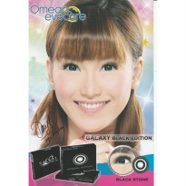 Softlens Omega Eyecare Galaxy Black Edition