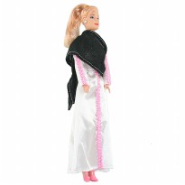 Otoys Mainan Boneka Super Model Barbie - EV-2583E - Putih