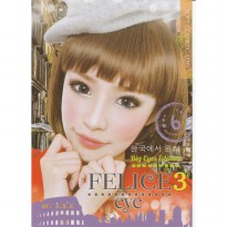 Softlens FeliceEye 3 by S.H.E Big Eyes Edition
