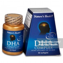 Nature's Health DHA Complex - 60 Softgels