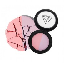 Stylenanda Duo Color Face Blush Creme De Violette