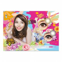 Softlens Flower 3 Tones By S.H.E