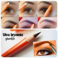 Viva Queen Eyebrow ( Pensil Alis ) 100% Original