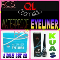 QL COSMETIC ~ KUAS PREMIUM ~ EYELINER WATERPROOF ~TAHAN AIR ~ORIGINAL