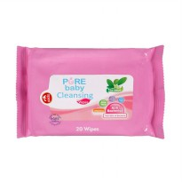Pure Baby Cleansing Wipes - Tea Olive 20's