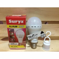 Lampu Emergency LED Bulb AC/DC SURYA AJAIB 10WATT (RECHARGEABLE)
