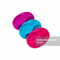 Boon Divide Plate - Purple, Blue, & Red
