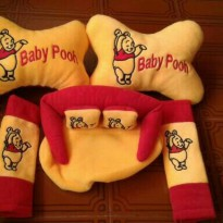 Bantal Mobil Baby Pooh 3 In 1