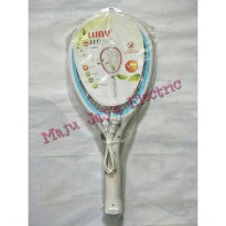 Raket Nyamuk L 3807A Electric Swatter Luby L3807A 3807 A Rechargeable Termurah01