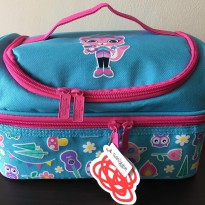 [SMIGGLE] Smiggle Yay Double Decker Lunch Box / Bag - Blue